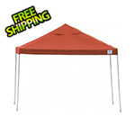 ShelterLogic 10x10 Straight Pop-up Canopy with Black Roller Bag (Terracotta Cover)