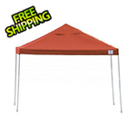 ShelterLogic 12x12 Straight Pop-up Canopy with Black Roller Bag (Terracotta Cover)