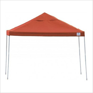 12x12 Straight Pop-up Canopy with Black Roller Bag (Terracotta Cover)