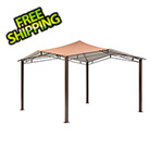 ShelterLogic 12x12 Sequioa Gazebo with Square Tube (Bronze Cover)