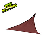 ShelterLogic 12 ft. Triangle Shade Sail (Terracotta Cover)
