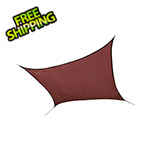 ShelterLogic 12 ft. Square Shade Sail (Terracotta Cover)