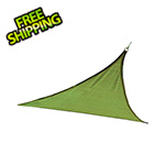 ShelterLogic 12 ft. Triangle Shade Sail (Lime Green Cover)