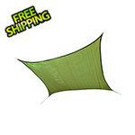 ShelterLogic 12 ft. Square Shade Sail (Lime Green Cover)