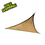 ShelterLogic 12 ft. Triangle Shade Sail (Sand Cover)