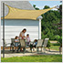 12 ft. Square Shade Sail (Sand Cover)