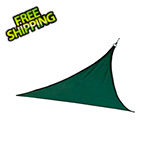 ShelterLogic 12 ft. Triangle Shade Sail (Evergreen Cover)