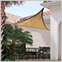 16 ft. Triangle Shade Sail (Sand Cover)