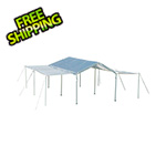 "ShelterLogic 10x20 Canopy Extension and Sidewall Kit  for 1-3/8"" and 2"" Frame (White Cover)"
