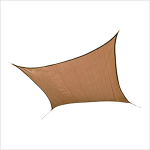 16 ft. Square Shade Sail (Sand Cover)