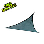 ShelterLogic 12 ft. Triangle Shade Sail (Sea Blue Cover)