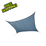 ShelterLogic 12 ft. Square Shade Sail (Sea Blue Cover)