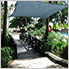 12 ft. Square Shade Sail (Sea Blue Cover)