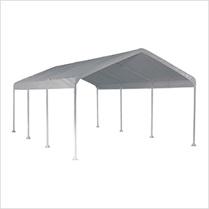"12x20 Canopy with 2"" 8-Leg Frame (White Cover)"