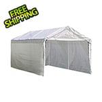 "ShelterLogic 10x20 Canopy Enclosure Kit for 1-3/8"" Frame (White Cover)"