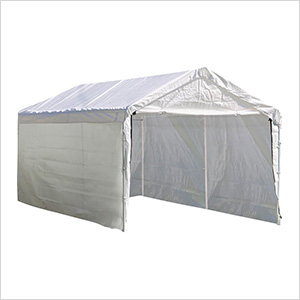 "10x20 Canopy Enclosure Kit for 1-3/8"" Frame (White Cover)"
