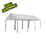 ShelterLogic 10x20 Party Tent with 8 Leg Steel Frame (White Cover)