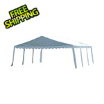 ShelterLogic 20x20 Party Tent with 8 Leg Steel Frame (White Cover)