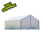 ShelterLogic 18x40 Canopy Enclosure Kit (White Cover)
