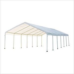 "18x40 Canopy with 2"" 14-Leg Frame (White Cover)"