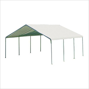 """18x20 Canopy with 2"""" 8-Leg Frame (White Cover)"""
