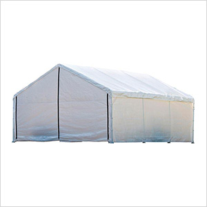 18x20 Canopy Enclosure Kit (White Cover)