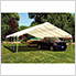 "30x40 Canopy with 2-3/8"" 14-Leg Frame (White Cover)"