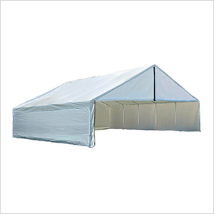 30x40 Canopy Enclosure Kit (White Cover)