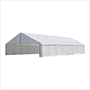 30x50 Canopy Enclosure Kit (White Cover)