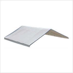 """30x50 Canopy Replacement Cover For 2-3/8"""" (White Cover)"""