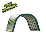 ShelterLogic 12x20x8 Round Style Run-In Shelter (Green Cover)