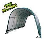 ShelterLogic 12x24x10 Round Style Run-In Shelter (Green Cover)