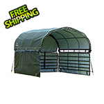 ShelterLogic 10x10 Corral Shelter Enclosure Kit (Green Cover)