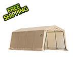 "ShelterLogic 10x20 Auto Shelter 1-3/8"" Frame (Sandstone Cover)"