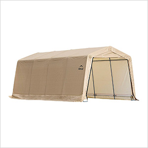 "10x20 Auto Shelter 1-3/8"" Frame (Sandstone Cover)"