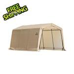 "ShelterLogic 10x15 Auto Shelter 1-3/8"" Frame (Sandstone Cover)"