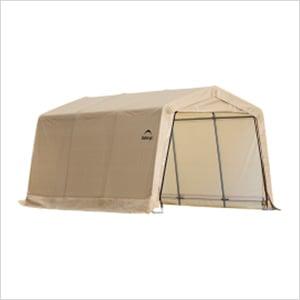 "10x15 Auto Shelter 1-3/8"" Frame (Sandstone Cover)"