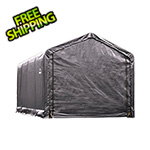 ShelterLogic 12x20 ShelterTube Storage Shelter (Gray Cover)