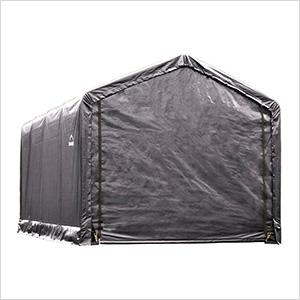 12x20 ShelterTube Storage Shelter (Gray Cover)