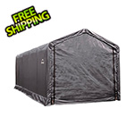 ShelterLogic 12x25 ShelterTube Storage Shelter (Gray Cover)
