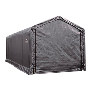 12x25 Sheltertube Storage Shelter (gray Cover)