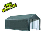 ShelterLogic 12x30 ShelterTube Storage Shelter (Gray Cover)