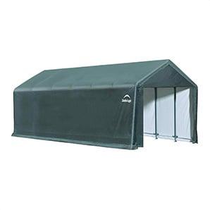 12x30 Sheltertube Storage Shelter (gray Cover)