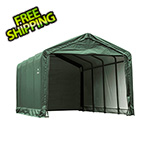 ShelterLogic 12x25 ShelterTube Storage Shelter (Green Cover)