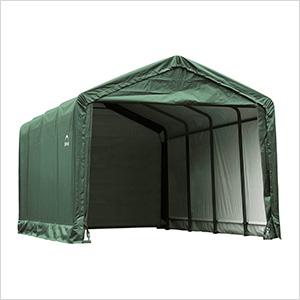 12x25 ShelterTube Storage Shelter (Green Cover)