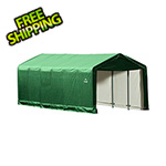 ShelterLogic 12x30 ShelterTube Storage Shelter (Green Cover)
