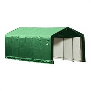 12x30 Sheltertube Storage Shelter (green Cover)