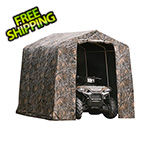 "ShelterLogic 8x8 Shed-In-A-Box with 1-3/8"" Frame (Camo Cover)"