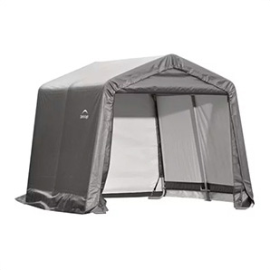 10x10 Shed-in-a-box With 1-3/8 Frame (gray Cover)