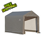 "ShelterLogic 6x6 Shed-In-A-Box with 1-3/8"" Frame (Gray Cover)"